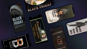 7 templates to publish your Black Friday offers in Stories