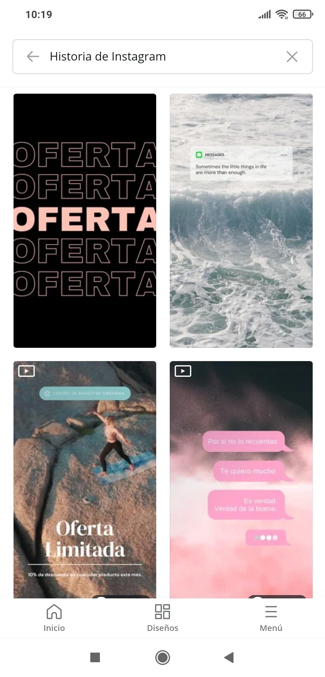 Historias para Instagram en Canva