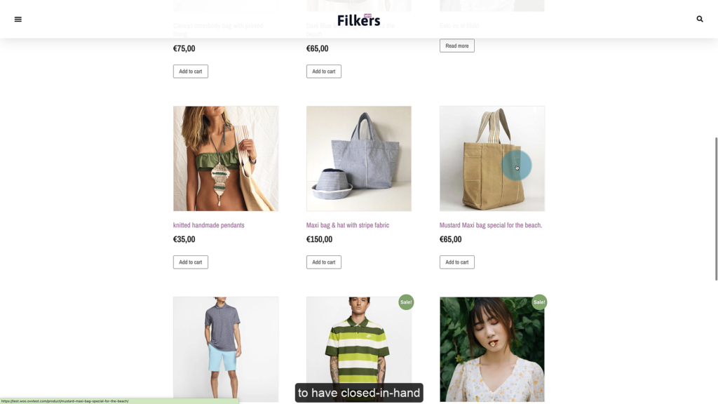 eCommerce to connect Canva with Filkers