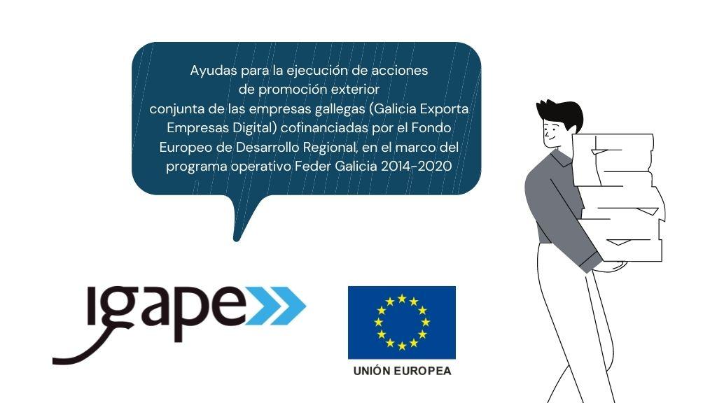 Ayudas del IGAPE Galicia Exporta Empresas